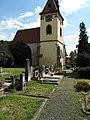 Velké Žernoseky, kostel svatého Mikuláše od severu.JPG