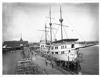 Venice, Los Angeles - Venice Pavilion and Ship Cafe, ca.1905–1913