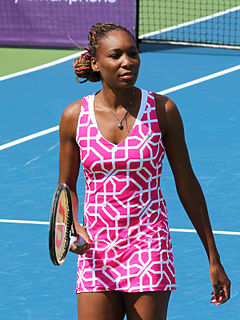 Venus Williams American tennis player