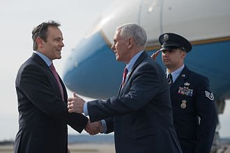 Matt Bevin - Bevin with Vice President Mike Pence in March 2017