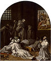 """Vicente Carducho. """"Prisión y muerte de los diez miembros de la cartuja de Londres"""" (1632). Cartuja del Paular-Museo del Prado.jpg"""