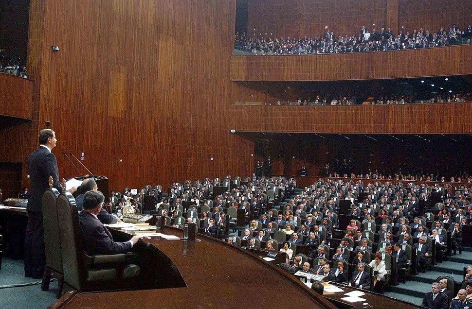 Vicente Fox Congreso