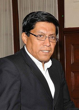 Cabinet of Peru - Image: Vicente Zeballos Salinas