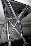 Vickers Valiant main undercarriage detail, front view, RAF Museum, Cosford. (39650706090).jpg