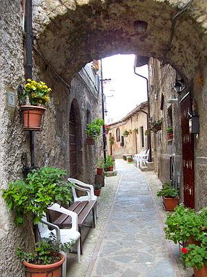 Castel Sant'Angelo, Lazio - Image: Vicolocastello