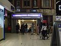 Victoria tube station entrance main concourse.JPG