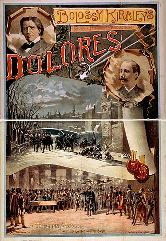 The Kiralfy Brothers - Bolossy Kiralfy's grand Parisian production, Dolores by Victorien Sardou
