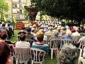 Victory Day (9 May) ceremony, Golda Park, Kiryat Motzkin - 2.jpg