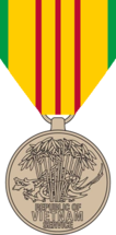 Observe view of Vietnam Service Medal