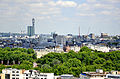 View from Westminster Cathedral 2011 St James's Park.jpg