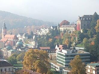 Baden-Baden - Image: View of Baden baden