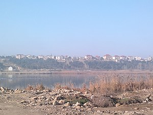 View of Bulbula Lake from Amirjan.jpg