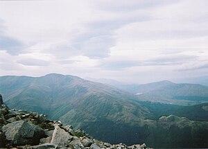 Glen Nevis - View of Glen Nevis from Ben Nevis
