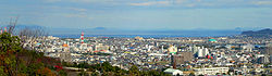 Downtown Niihama and Seto Inner Sea
