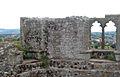 View of Raglan village from the Great Tower, Raglan Castle - geograph.org.uk - 1531769.jpg