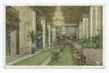 View of the Main Lobby, Book - Cadillac Hotel, Detroit, Mich (NYPL b12647398-74642).tiff