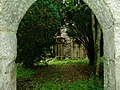 View through the entrance to Admiral Gordon's Chapel - Glenlochar - geograph.org.uk - 963875.jpg