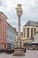 Villach Innenstadt Hauptplatz Dreifaltigkeitssäule 08052019 6699.jpg
