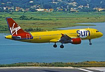 Virgin Sun Airbus A320-214; G-VMED, June 2001 (8297179365).jpg