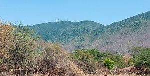 Cerro El Copey National Park - Image: Vista del Cerro El Copey o La Sierra desde San Juan