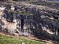 Vista desde la entrada de la cueva del Reguerillo, enero de 2006 04.jpg
