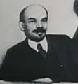 Vladimir Lenin at a meeting of the Council of People's Commissars.jpg