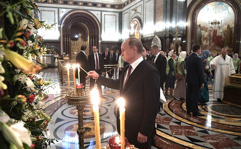 Vladimir Putin congratulated Patriarch Kirill on his name day 2017-05-24 02.jpg
