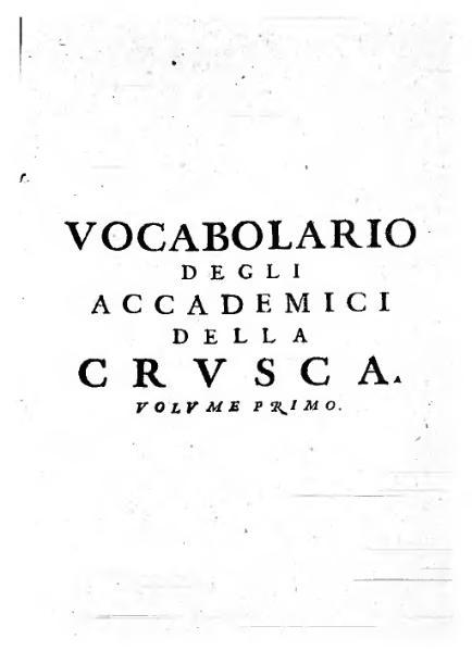 File:Vocabolario degli accademici della Crusca 1691, volume I.djvu