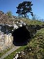 Vogelherdhöhle im Lonetal, Fundort des Pferdchens aus Mammutknochen, 32 TSD Jahre 02.jpg