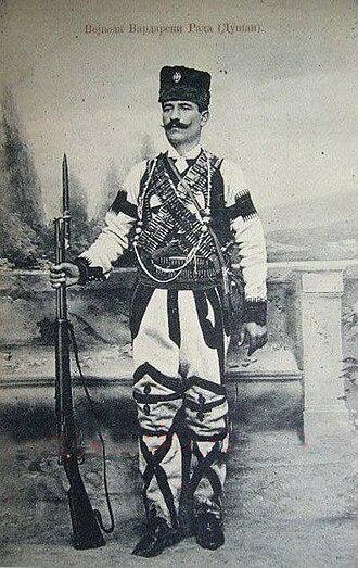 """Rade Radivojević - """"Vojvoda Vardarski Rade (Dušan)"""""""