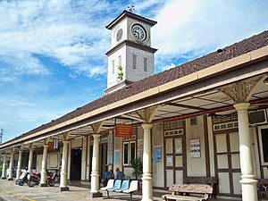 Alor Setar railway station - Alor Setar old railway station