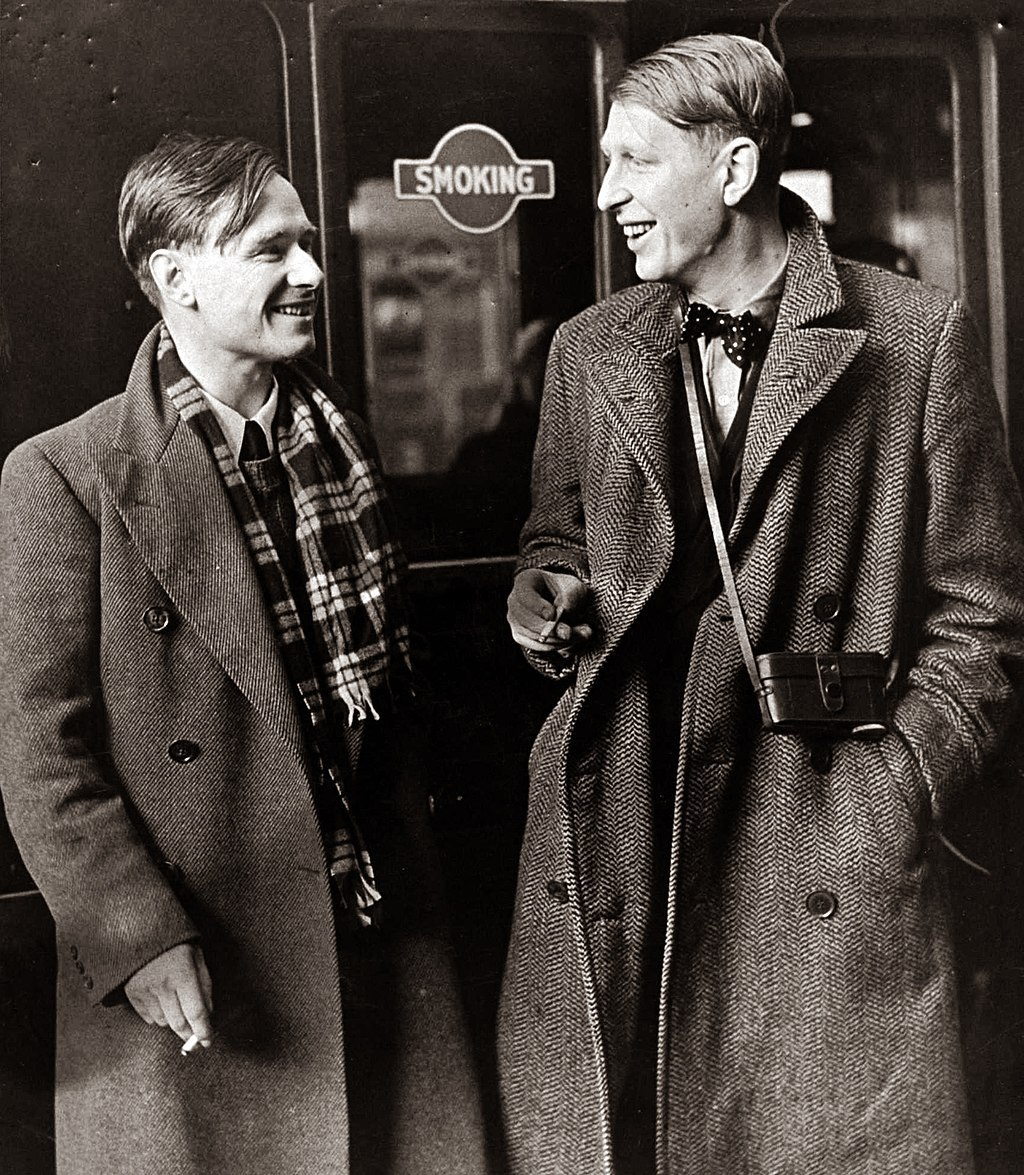 W. H. Auden and Christopher Isherwood en route to China, 1938. (7893554712)