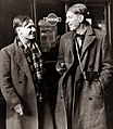 W. H. Auden and Christopher Isherwood en route to China, 1938. (7893554712).jpg