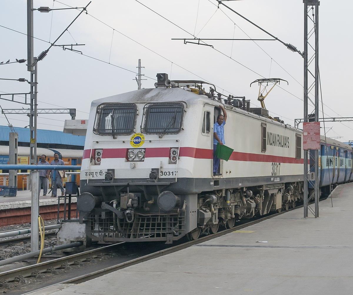 Indian locomotive class WAP-7 - Wikipedia