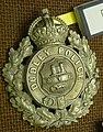 WMP Museum - Dudley Borough Police helmet plate 02.jpg