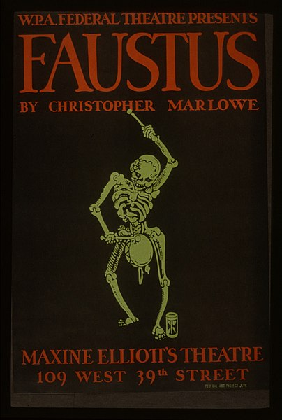 File:WPA poster Christopher Marlowe Faustus.jpg