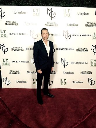 Brent Huff - Brent Huff at the Los Angeles Premiere of Chasing Beauty.