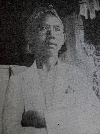 Wahid Hasyim - Wahid Hasyim when he was 12 years old