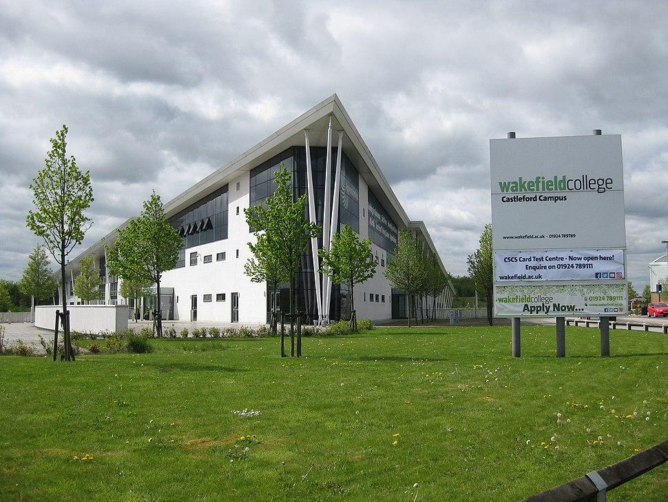 Wakefield College Castleford April 2017