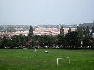 HM Prison Wakefield - HM Prison Wakefield dominates the skyline of Wakefield.