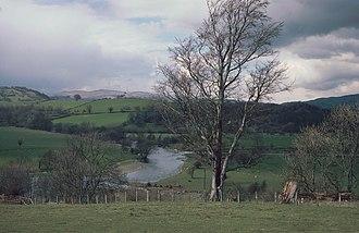 Kingdom of Powys - Powys landscape near Foel