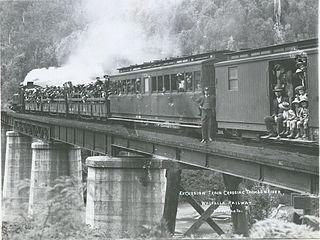 Walhalla railway line railway line in Victoria, Australia