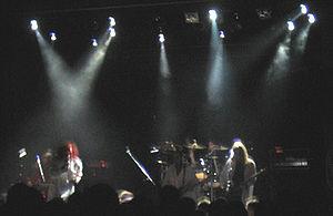 Waltari - Waltari performing at the Tavastia Club in Helsinki in January 2006.