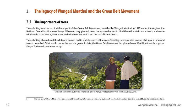 green belt movement essay Anti essays offers essay examples to help students with their essay writing sign up wangari maathai essay submitted  she convinced the national council of the women of kenya to take up her idea, and it soon became known as the green belt movement, which offered free show more submitted by:.