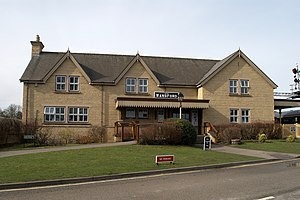 Wansford railway station - Image: Wansford Station new building