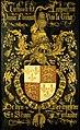Wapenbord van Eduard IV (1442-83), koning van Engeland, in zijn hoedanigheid van ridder in de orde van het Gulden Vlies Rijksmuseum SK-A-4641.jpeg