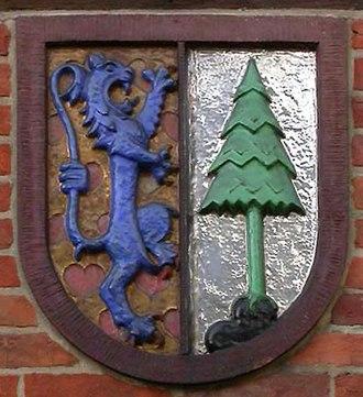 County of Dannenberg - Image: Wappen Kreis Dannenberg mod