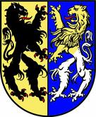 Das Wappen von Markkleeberg