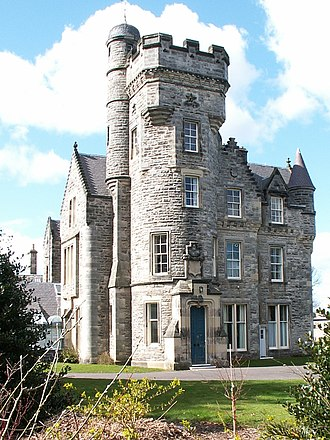 University Hall (University of St Andrews) - The Wardlaw wing of University Hall