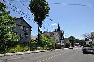 Church Street Historic District (Ware, Massachusetts) - Image: Ware MA Church Street HD 03
